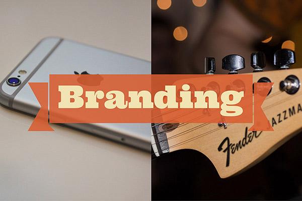Branding graphic / image example