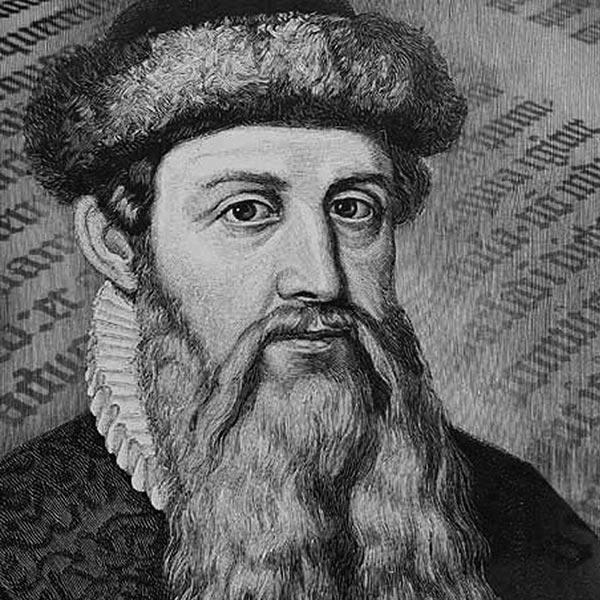 Gutenberg Portrait